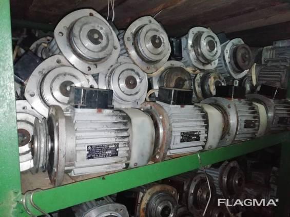 Электродвигателя 4ААМ63А2 0,37кВт, 2730об/мин