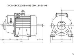 Электродвигатель крановый MTH 613-6 110 кВт 970 об/мин