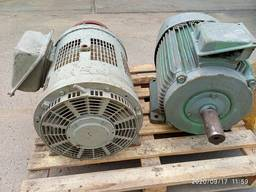 Електродвигун 3ф. 37 кВт/1000об/хв/70 А та 55 кВт/1500об/хв/119А