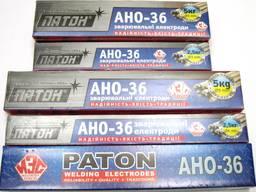 Электроды АНО-36 Патон (d=3mm) оптом