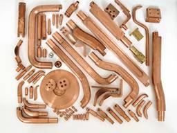 Электроды машин контактной точечной и шовной сварки