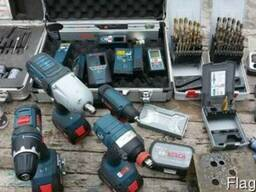 Электроинструмент Bosch, Makita