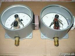 Электроконтактный манометр ЭКМВ-1У (-1 *3 кГс).