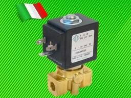 Электромагнитный клапан для воды (Italy), питание-12V и др.