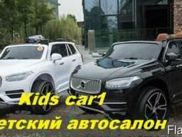 Электромобиль Volvo XС 90 белый