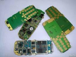 Электронный лом платы мобильных тел материнские платы