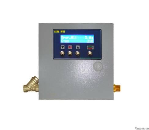 Электронный промышленный дозатор воды и жидкостей Serv_W15
