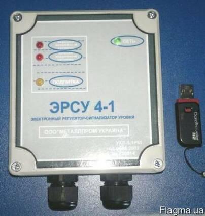 Электронные регуляторы-сигнализаторы уровня ЭРСУ 4-1