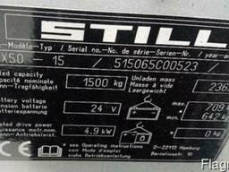 Электропогрузчик б/у STILL RX50-15 1.5 т, 2012 г, с новой АК - фото 2