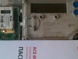 Электросчетчик ACE 6000 (5-10А) и модем SparkLet