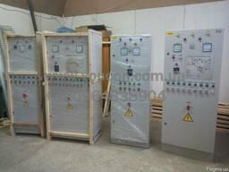 Электрошкафы (пульты управления) линиями гранулирования ОГМ