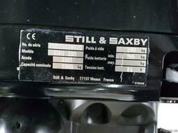 Электротележка Still EGU20S, 2001г, 4743м/ч, 2т, с подножк - фото 6