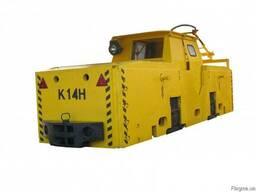 Электровоз шахтный К14