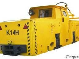 Электровоз шахтный (рудничный) К-14, К-10