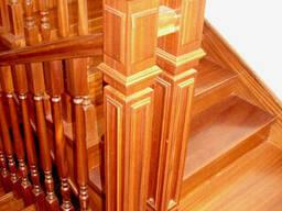 Элементы лестниц. Столб опорный.