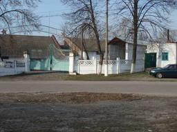 Склад напольного хранения зерна в 65 км от Киева