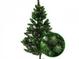 Елка новогодняя зеленая искусственная 2, 2 м ПВХ «Сказка»