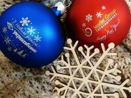 Сувенирные елочные игрушки к новому году