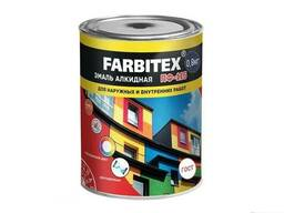 Эмаль алкидная ПФ-115 ГОСТ Farbitex темно-серая 0, 8кг