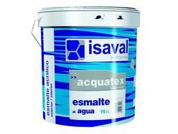 Эмаль Isaval Акватекс Матовый 0,75л - для дерева,бетона