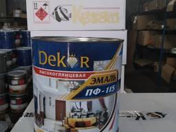 Эмаль ПФ-115 DEKOR
