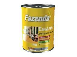 Эмаль ПФ-266 для пола Fazenda красно-коричневая 2, 8 кг
