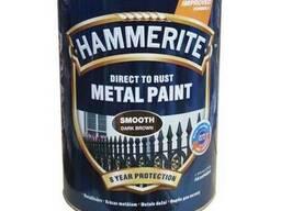 Эмаль т.коричневая п/матовая 2,5л Hammerite