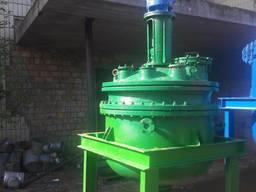 Эмалированный Нерж реактор 0,63 м. куб. 1,25, 2.5. , 4 м. ку