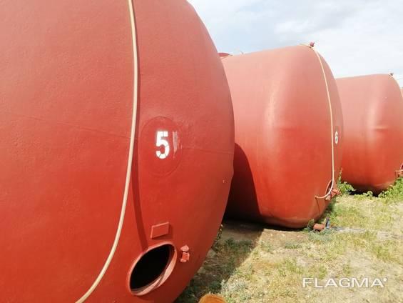 Емкость 100 м. куб. металл эпр. для каса пищ/хим жидкостей.