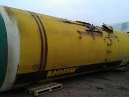 ЖД цистерна 73 м³, емкость металлическая, бочка, резервуар ж/д Наша доставка