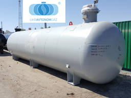 Емкость для газа подземная 25м. куб, резервуар, СУГ