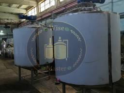 Емкость для молока (молочная) 2500 л