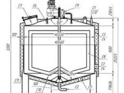Емкость для сливок 6,3м3 из нержавеющей стали