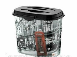 Емкость для стирального порошка Elif Лондон 7 л 389-9 #PO. ..