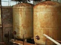 Емкость резервуар пищевой металл 20 м. куб.