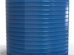 Емкость пластиковая вертикальная для воды низкая 10000 л