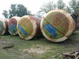 Емкость ЖД котел цистерна 54,63 ,73, 86, 105 ,160 м куб