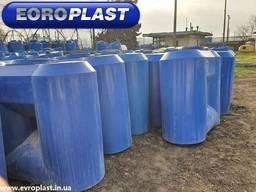 Продам пластиковые емкости для воды хранения бу горизонтальн