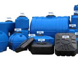 Емкости пластиковые (баки) для воды