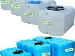 Емкости прямоугольные до 500 литров