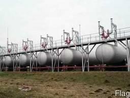 Емкости, резервуары пропан бутан СУГ наземные от 5-25 мкуб