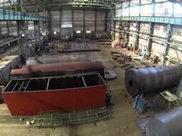 Емкостное оборудование под заказ с черной и нержав. стали