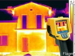 Энергоаудит, обследование тепловизором зданий на теплопотери