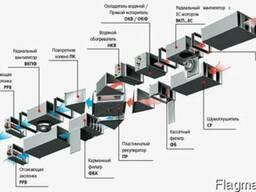 Энергосберегающие канальные установки Х-VENT.