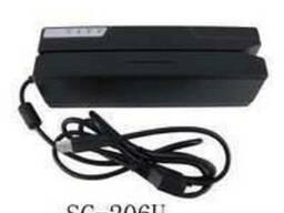Энкодер магнитных карт (магнитной полосы) MSR 206 C HiCo