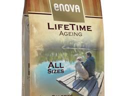 Enova lifetime ageing корм для собак ультра премиум