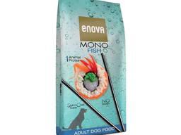 Enova mono fish корм для собак ультра премиум