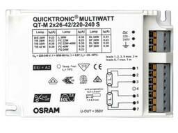 ЭПРА для линейных и КЛЛ ламп - Osram QT-M 2-26-42/230-240S - 4008321110022