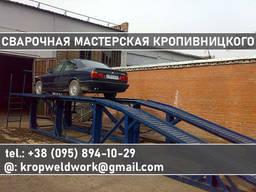 Эстакада для ремонта легкового грузового авто Смотревая яма