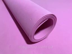 Эва, фоамиран 2 мм 100х150 см розовая.